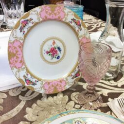 Marie Antoinette Dinnerware Collection- Pink