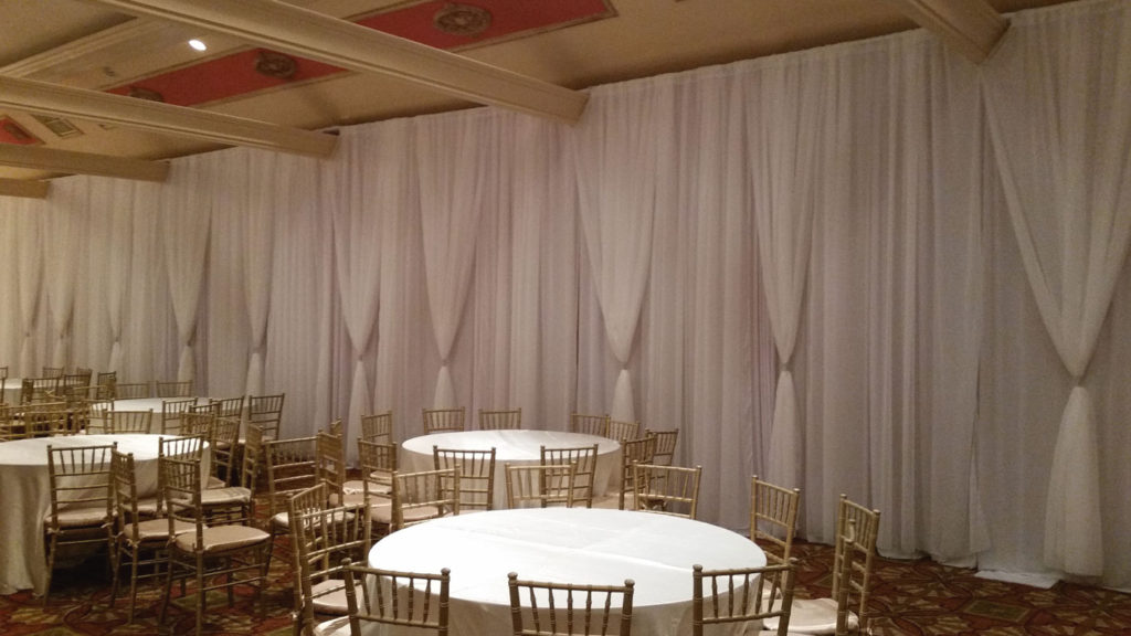 Indoor Draping/ Pipe & Drape