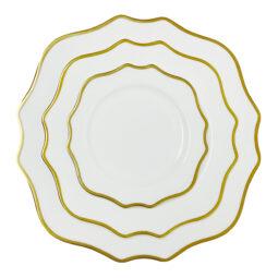 Trieste Dinnerware Collection- Gold