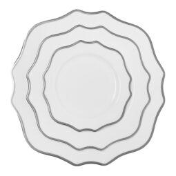 Trieste Dinnerware Collection- Platinum