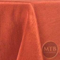 Shantung Satin Table Linens