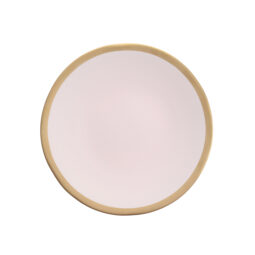 Heirloom Gold Band Blush Dinnerware Collection
